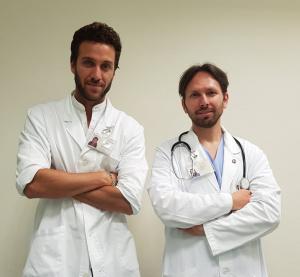 Nutricionista Andrea Del Seppia y Calogero Amella Médico Cirujano, Especialista en Gastroenterología y Endoscopia Digestiva