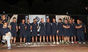 Presentación personal técnico equipo Cesena Football - serie A de fútbol, año 2014-2015